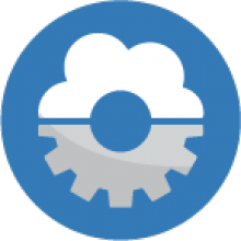 GPII auto-personalization icon showing a cloud over a settings gear icon